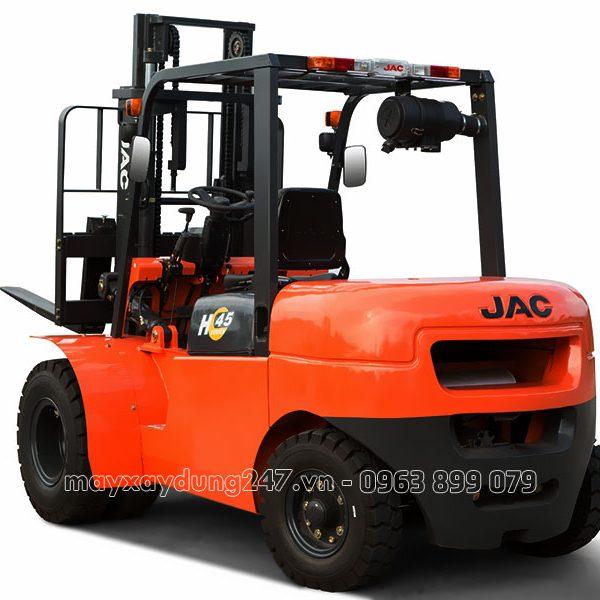 xe nâng JAC tải trọng hàng 4,5 tấn